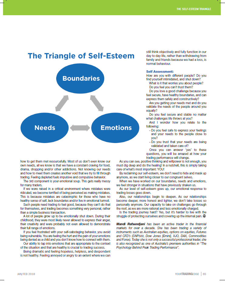 "the development of strong sense of self esteem The role of concept of self and societal expectations in of a ""strong sense of self"" the development of a high self-esteem and strong."